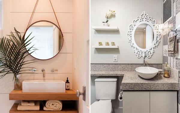 espelho para decorar banheiro